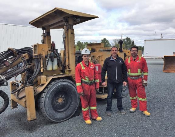 Premier élève d'un jour 2017 du domaine minier