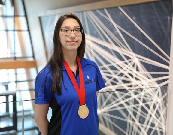 Médaille d'or pour Myriam Laforce